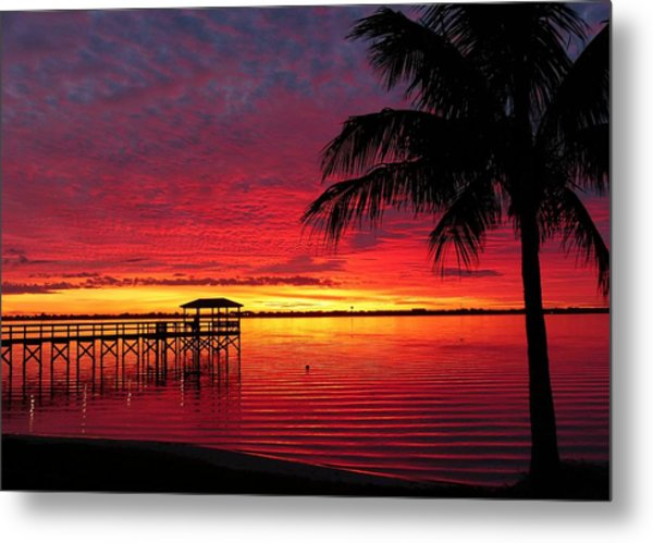 Florida Sunset IIi Metal Print