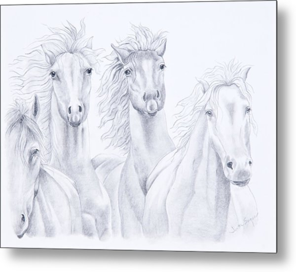 Four For Freedom Metal Print