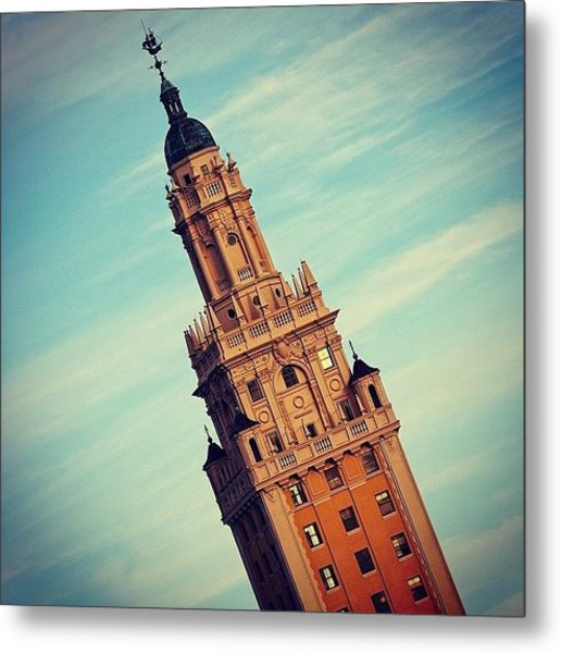 Freedom Tower - Miami Metal Print