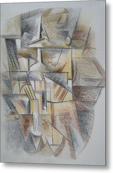 French Curves 4 Metal Print