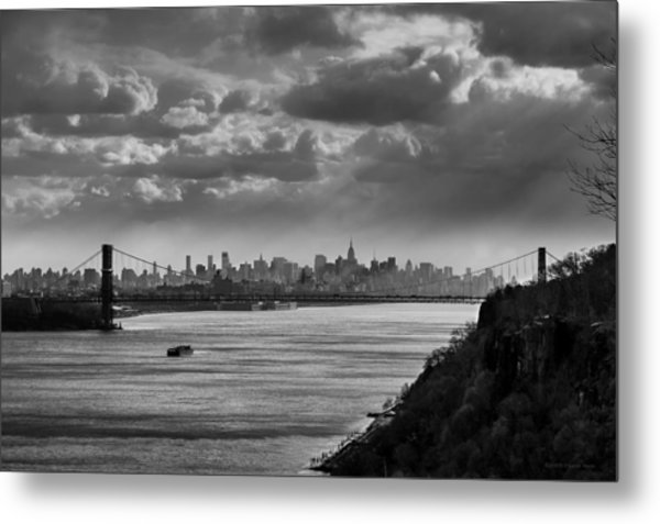 From The Jersey Side Metal Print