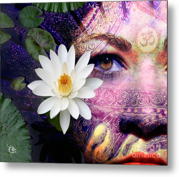 Full Moon Lakshmi Metal Print
