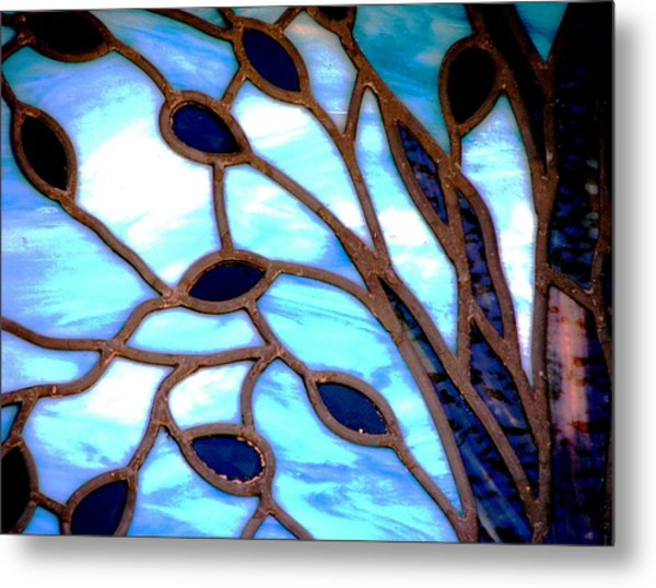Gettysburg College Chapel Window Metal Print