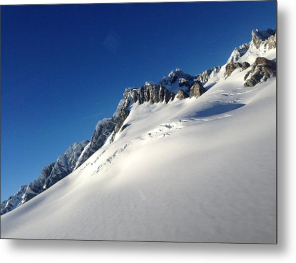 Glacier Metal Print by Ron Torborg