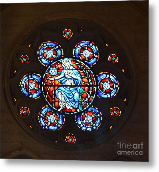 Grace Cathedral Metal Print
