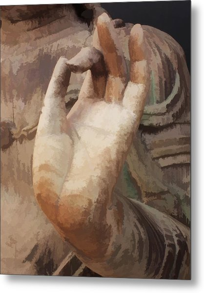 Hand Of Buddha C2014 Metal Print
