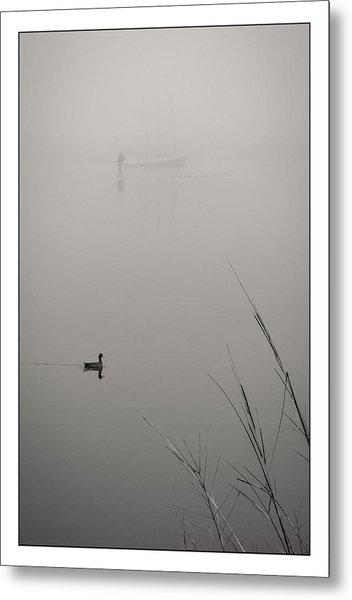 Harbor Fog No.2 Metal Print
