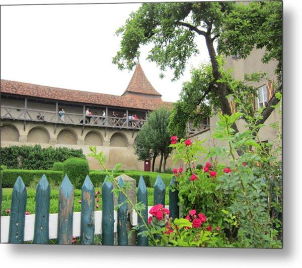 Harburg Castle Metal Print