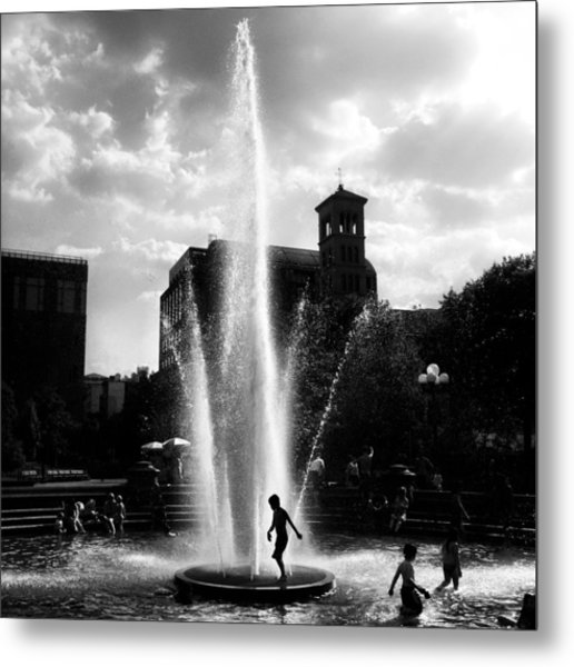 Heat Wave Metal Print