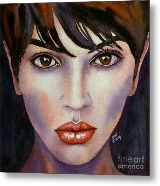Heaven In Her Eyes Metal Print