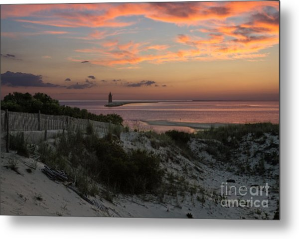 Henlopen Sunset Metal Print