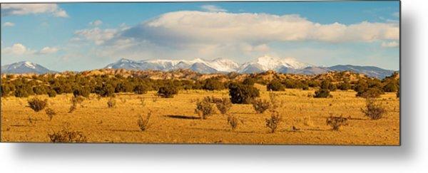 High Desert Plains Landscape Metal Print