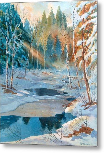 Hinchinbrooke Creek In Spring Metal Print