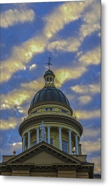 Historic Auburn Courthouse Metal Print