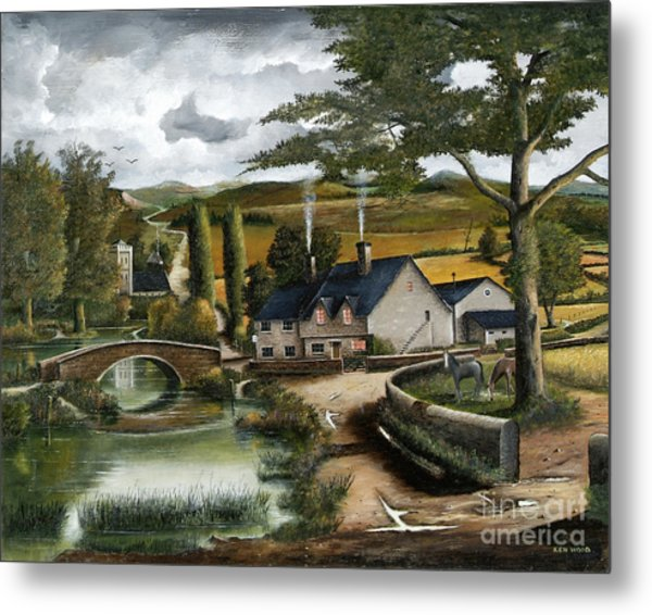 Home Farm Metal Print