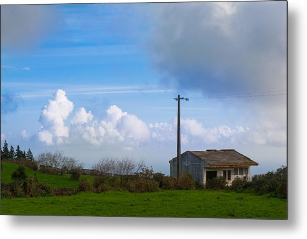 House At End Of The World Metal Print