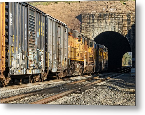 Metal Print featuring the photograph Hp 8717 by Jim Thompson