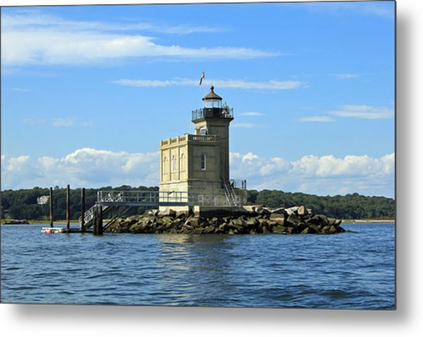 Huntington Lighthouse Metal Print