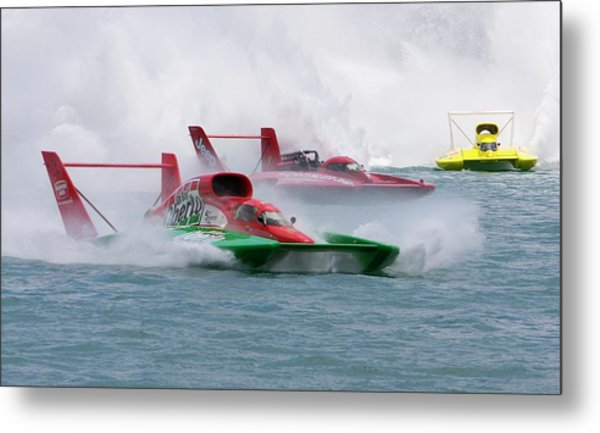 Hydroplane Racing Metal Print