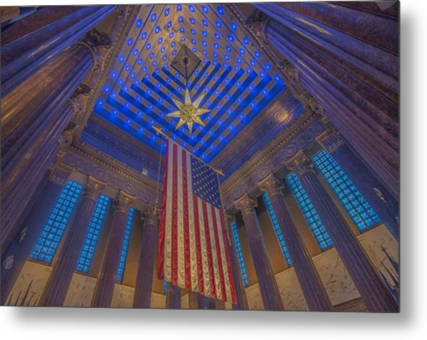 Indiana War Memorial Shrine  Metal Print