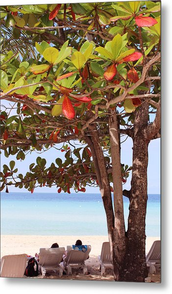 Jamaican Day Metal Print