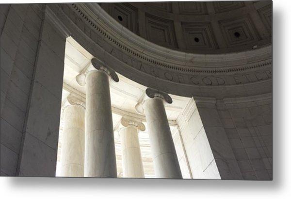 Jefferson Memorial Architecture Metal Print