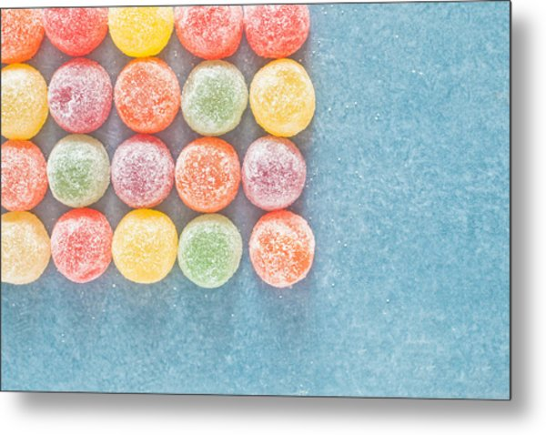 Jelly Sweets Metal Print
