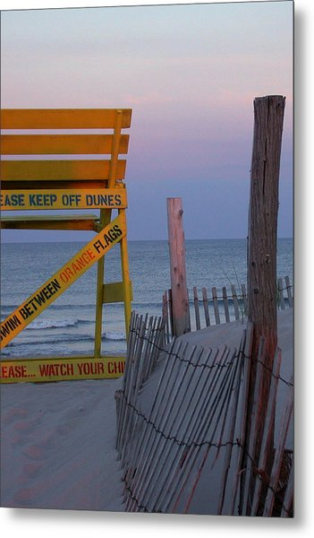 Metal Print featuring the photograph Jersey Shore by David Armstrong