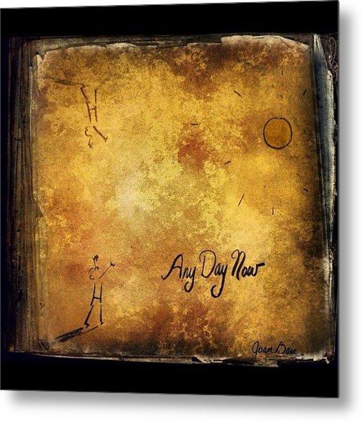 Joan Baez any Day Now Lp Metal Print