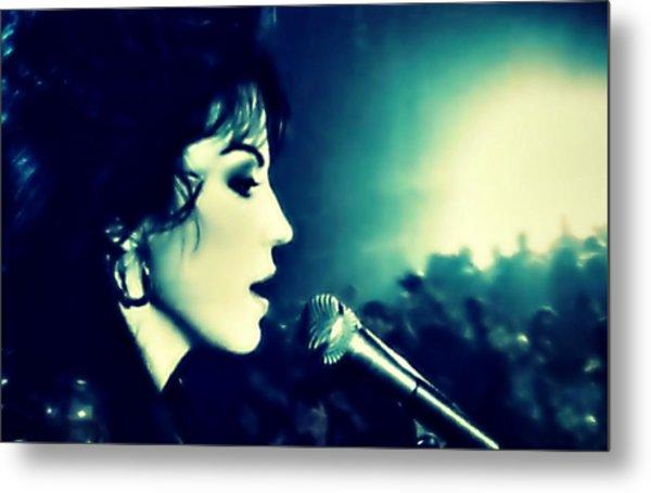 Joan Jett Metal Print