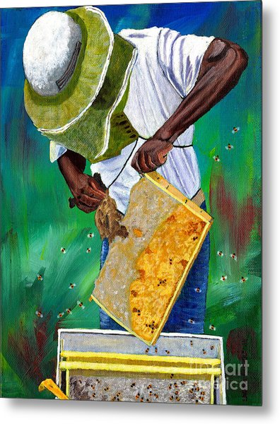 Keeper Of The Bees Metal Print