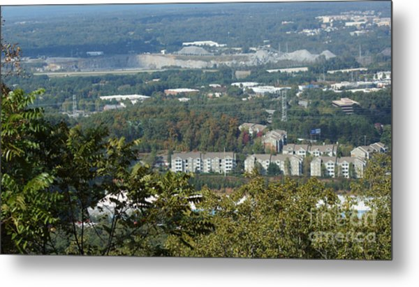 Kennesaw Battlefield Mountain Metal Print