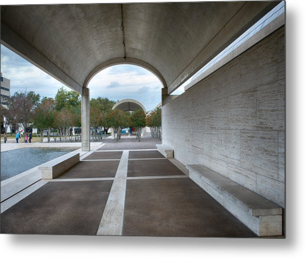 Kimbell Art Museum Fort Worth Metal Print