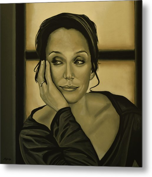 Kristin Scott Thomas Metal Print