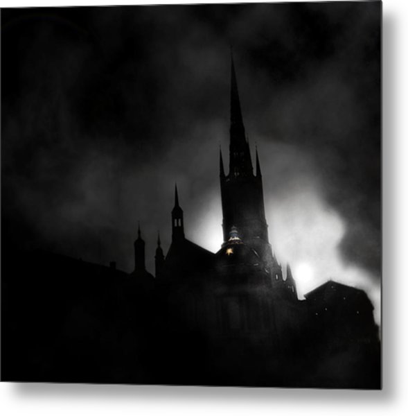 Kyrka Metal Print by David Fox