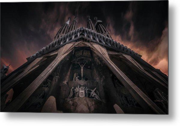 La Sagrada Famila?a Metal Print