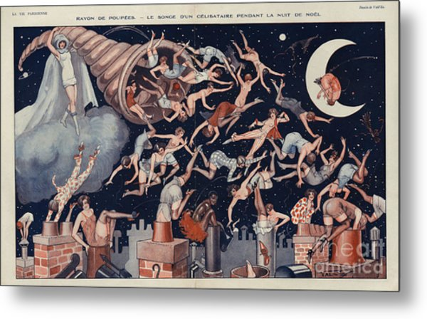 La Vie Parisienne 1927 1920s France Metal Print by The Advertising Archives