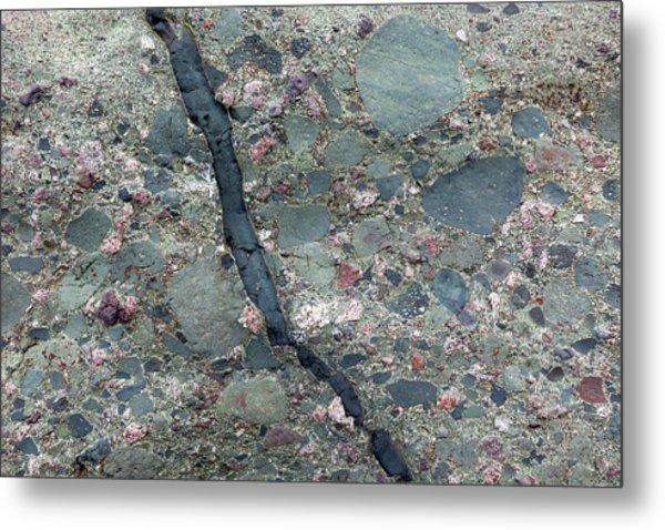 Lahar Deposit Rock Sample Metal Print