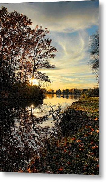 Lake Wausau Sunset Metal Print