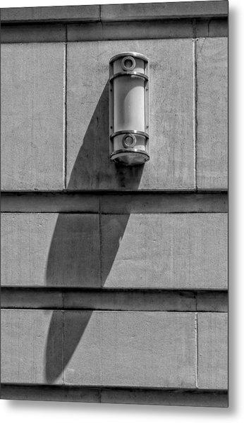 Lamp And Shadow Metal Print by Robert Ullmann