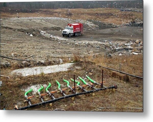 Landfill Site Metal Print