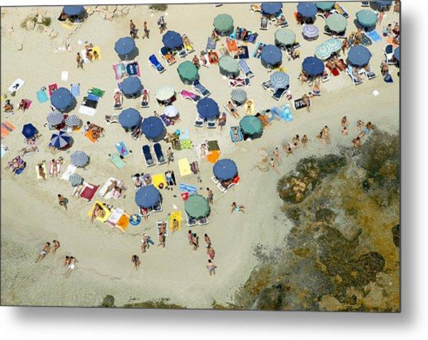 Las Salinas Beach, Ibiza Metal Print by Xavier Durán