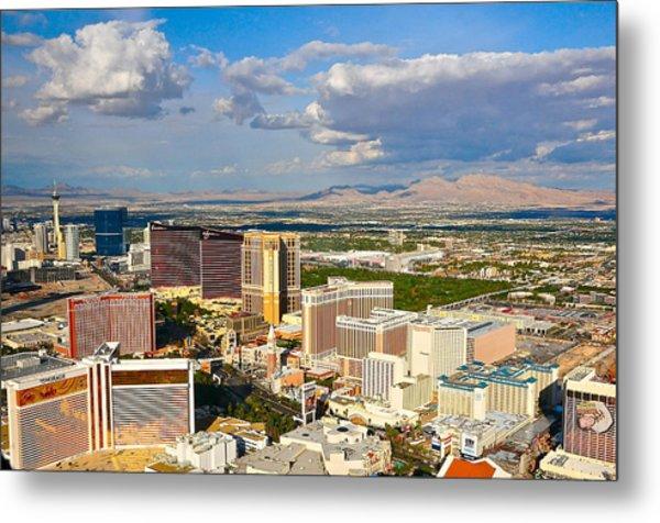 Las Vegas Strip  Metal Print by Amanda Miles