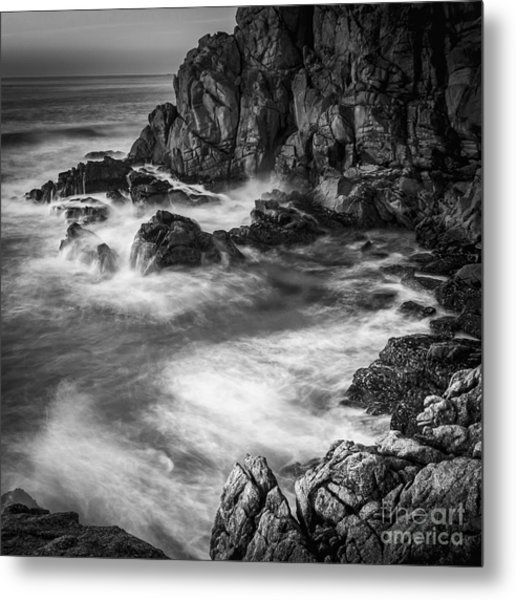 Metal Print featuring the photograph Last Lights At Penencia Point Galicia Spain by Pablo Avanzini