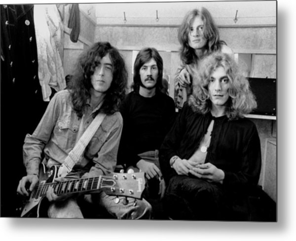 Led Zeppelin 1969 Metal Print