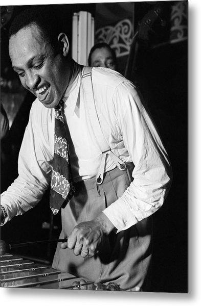 Lionel Hampton (1908-2002) Metal Print