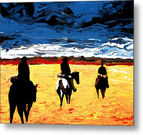 Long Journey Home Metal Print