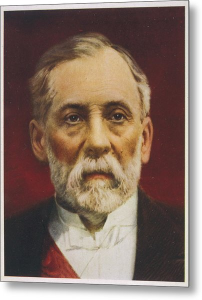 Louis Pasteur (1822 - 1895) French Metal Print by Mary Evans Picture Library