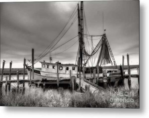 Lowcountry Shrimp Boat Metal Print