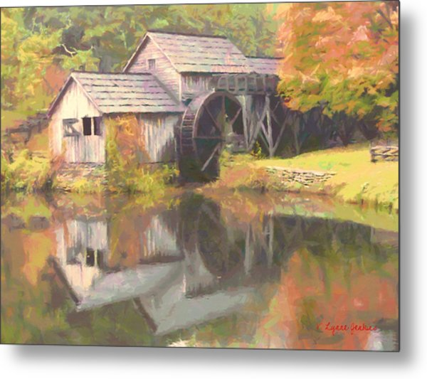 Mabry Mill Metal Print